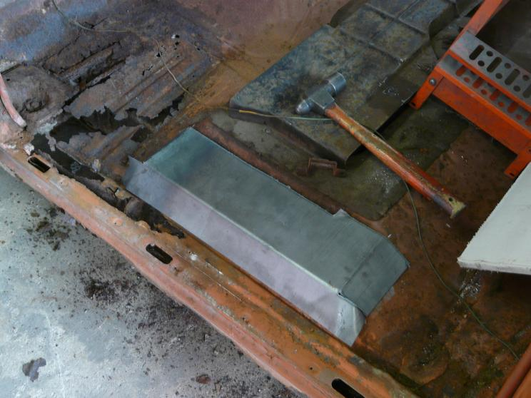 Car floor repair